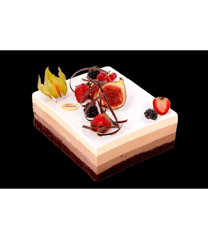 Tort 3 Chocolats